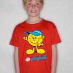 Kids T-shirt RED - min. 200 - 12-13-years