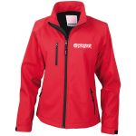 Ladies fitted soft shell jacket - XX Large