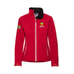 Ladies Soft Shell - red - 3xl