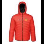 Men's Puffer Jacket - red - 2xl