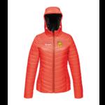 Ladies Puffer Jacket - red - 10